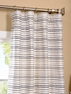 White Multi Hand Weaved Cotton Curtain