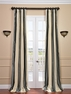 2-1 Nob Hill Stripe Silk Curtain 50 x 96 **Enter Qty 1 For 2 Panels, 2 For 4 etc