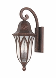 "Designers Fountain Berkshire 23"" Outdoor Wall Sconce Lighting - Copper 20621-BAC"