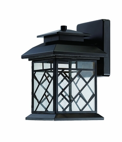 """Designers Fountain Woodmere 13.25"""" LED Outdoor Wall Mounted Light - Bronze LED22331-ORB"""