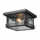 Elk Blackwell Exterior Ceiling Light - Graphite 42306/2