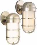Groton Outdoor Wall Lighting Fixture By Hudson Valley - Nautical 3001 (Finish Options)