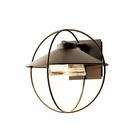 "Hubbardton Forge Halo Small 13.1"" Halogen Outdoor Wall Mounted Light 302701"