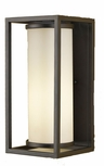 Industrial Modern Fluorescent Outdoor Wall Light by Murray Feiss OLPL7001ORB