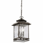 Kichler Pettiford Outdoor Pendant Light - Bronze 49544OZ