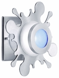 Splat 35W Outdoor Wall Light / Flush Mount Outdoor Lighting Fixture SS1001-SA  by CSL