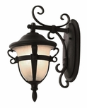 Tudor 18 Inch Black Outdoor Wall Light By Kalco 9391MB
