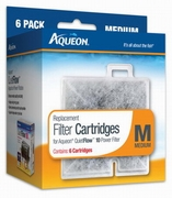 Aqueon Filter Cartridge Medium-6pk
