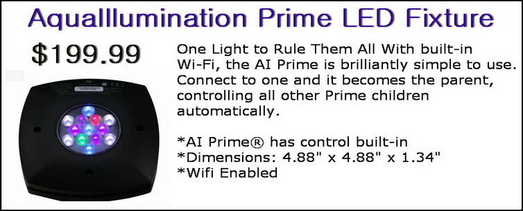 AquaIllumination Prime LED Fixture