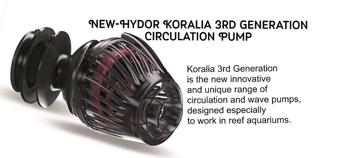 New-Hydor 3rd Generation Pump