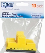 Kent Marine ProScraper & ProScraper II Replacement Stainless Steel Blades - 10 Pack (Glass Aquariums Only)