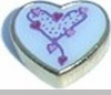 Chain Of Hearts Floating Heart Locket Charm