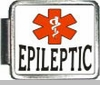 Epiletic Medical Alert Photo Italian Charm