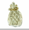 Gold Pineapple Floating Locket Charm