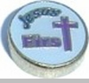 Jesus First Heart Locket Charm