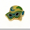 Mardi Gras Mask Floating Locket Charm