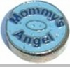 Mommy's Angel Heart Locket Charm