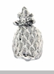 Silver Pineapple Floating Locket Charm