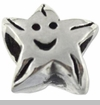 Smiling Star European Bead Charm