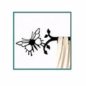 Butterfly Short Curtain Rod