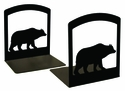 Cabin Black Bear Iron Bookends