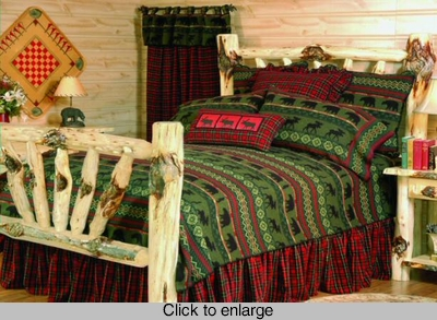 Cabin McWoods Bedding Set