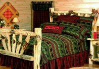 Cabin McWoods Queen Bedding Set