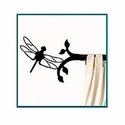 Dragonfly Short Curtain Rod