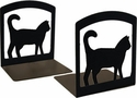 House Cat Iron Bookends