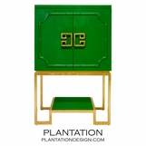 Abra Bar Cabinet | Green