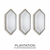 Grace Mirrors Set | Silver