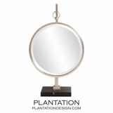 Alden Table Mirror | Silver