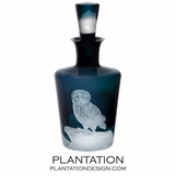 Allati Glass Decanter | Owl