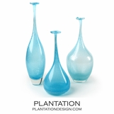 Alodia Glass Vases Set