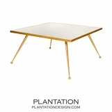 Aria Coffee Table | Gold