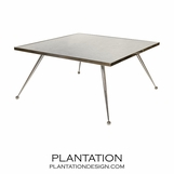 Aria Coffee Table | Nickel