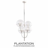 Asa Chandelier | Clear Glass