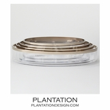 Babylon Set of 4 Bowls | Silver