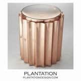 Baluster Side Table | Copper