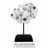 Barnacle Cluster Sculpture | White