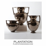 Baron Ceramic Vases No. 1 | Bronze