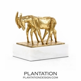 Billy Goats Gold Sculpture