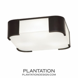 Blaine Flush Mount | Dark Bronze