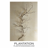 Branches Wall Sculpture | Nickel