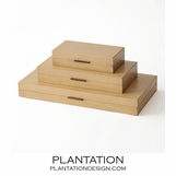 Brentwood Wood Boxes | Walnut