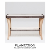 Camille Console Tables | Dark Mink