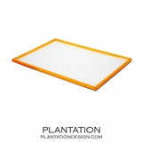 Campo Lucite Tray | Orange