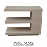 Cantilever Side Table | Rift Oak