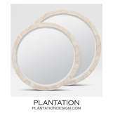 Catherine Shell Mirrors | Clam