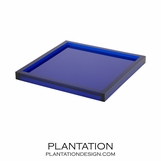 Cavour Lucite Tray | Blue